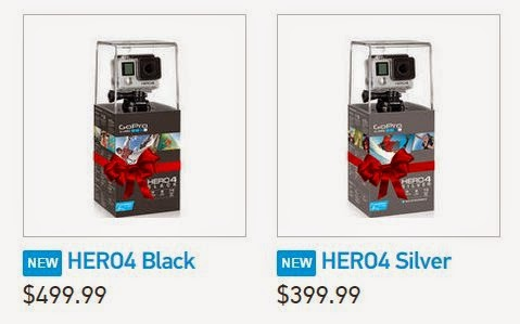 GoPro Hero4 Black VS Hero4 Silver