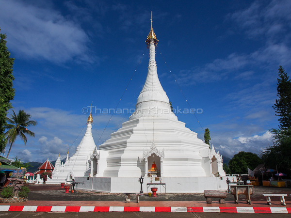 Wat Phra That Doi Kong Mu Mae Hong Son Thailand