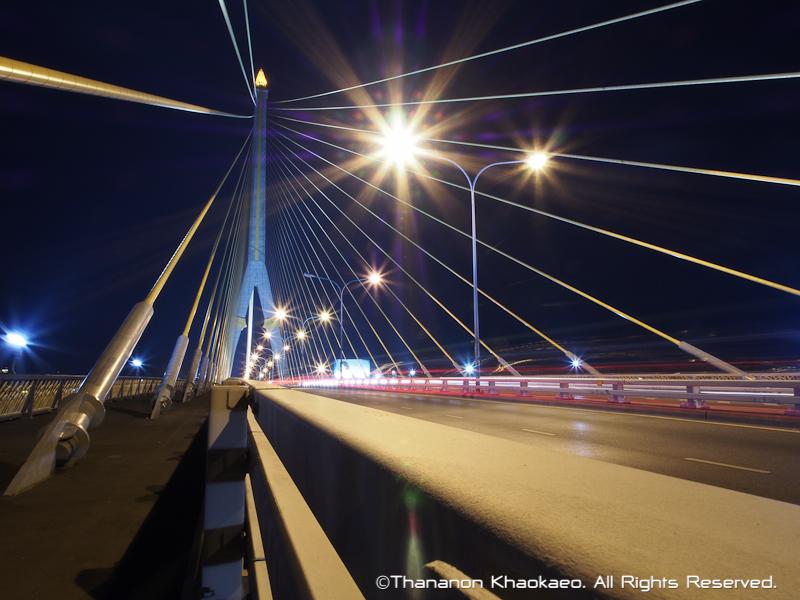 rama viii bridge bangkok thailand