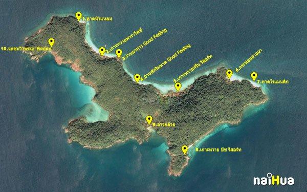 แผนที่เกาะหวาย